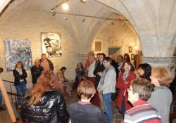 En preambule de la foire le salon de la saint simon d arts club cuiseaux a la galerie des princes d orange a voir jusqu au 6 novembre photo pascale fournier 1477749059